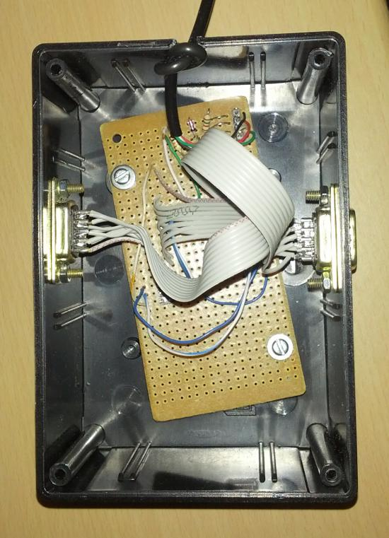 Another picture of the plastic box with all the components.